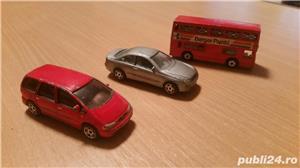 set 5 masinute,autobuz ,jucarii,in stare buna - imagine 3
