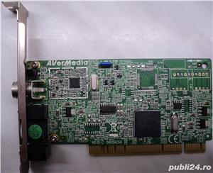 Tuner TV-FM AverMedia Super M135AF PCI DK BG FM - imagine 1