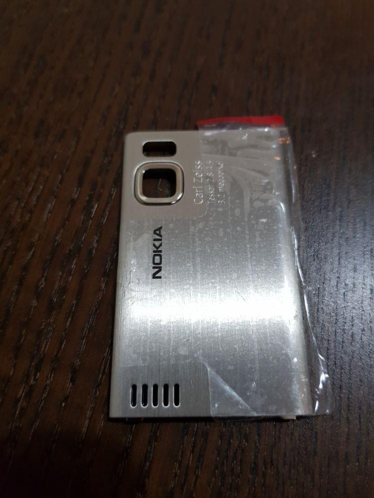 Capac metal Nokia 6500 - nou original - imagine 1