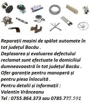 Reparatii masini de spalat Bacau - imagine 2