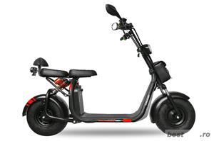 BEMI Harley eFlux Scooter 1000 Watt 60 Volt 12AH Omologat UE - imagine 3