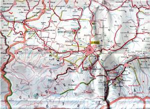 Judeţul Sibiu Harta Turistică Sector 4 Timp Liber Si Sport