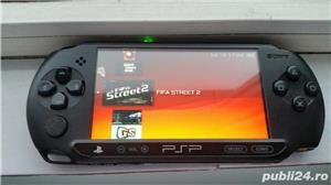 vand psp,playstation portabil ,model E 1004,modat,card,10 jocuri - imagine 4