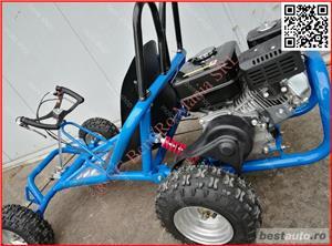GOKart Drift Buggy BEMI 160cc OHV 4T Monster adulti - imagine 3