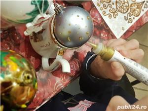 Pictură globuri curs 3 ore/ tablouri pe pânză la sevalet,  oua de paști, icoane  - imagine 10