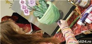 Pictură globuri curs 3 ore/ tablouri pe pânză la sevalet,  oua de paști, icoane  - imagine 5