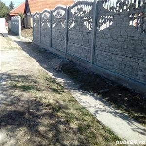 construim garduri,montam garduri din placi de beton - imagine 1