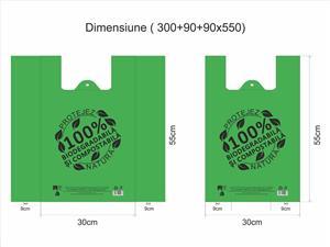 """Pungi 100% biodegradabile - model """"Eco Friendly"""" - imagine 4"""