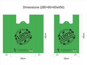 """Pungi 100% biodegradabile - model """"Eco Friendly"""" - imagine 3"""