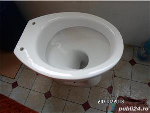 Vand WC NOU Nout cu capac - imagine 3
