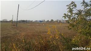 Teren in Golesti,jud.Vrancea,la 3 km de Focsani,deschidere 23 metri la DN2/E85,8euro/mp - imagine 3