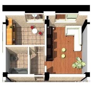 Apartament 2 camere nou de vanzare sistem Rate Galata  - imagine 3
