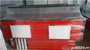 Vitrina/lada frigorifica/ vitrine frigorifice cu geam curbat,noi 2,5m  - imagine 11