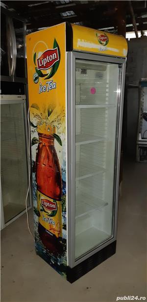 Vitrina/lada frigorifica/ vitrine frigorifice cu geam curbat,noi 2,5m  - imagine 18