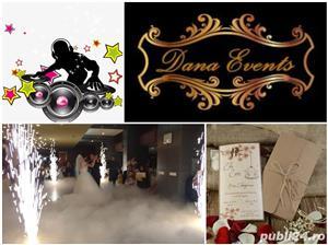 Invitați de nunta / botez schela de limini si fum greu pentru dansul mirilor  - imagine 1