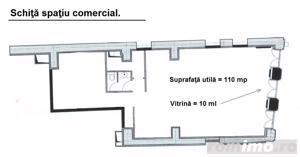 Spatiu comercial de 110mp utili, disponibil in zona Centrul Istoric. - imagine 1