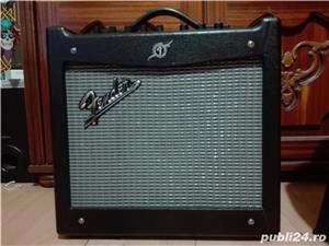 Chitara electrica cort m520 si amp fender mustang 1 v2 - imagine 7