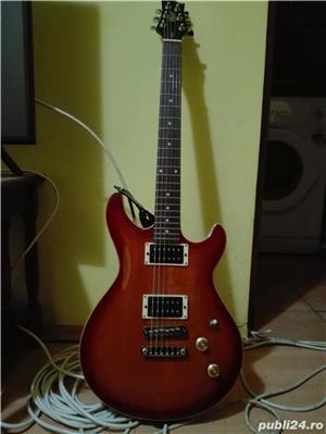Chitara electrica cort m520 si amp fender mustang 1 v2 - imagine 1