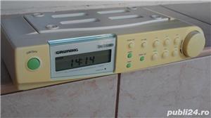 Radio Grundig Sono Clock 680 digital pt.bucatarie corp suspendat - imagine 2