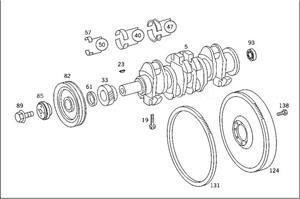 Rulment arbore cotit, Mercedes Benz Unimog - cod A3660300245  - imagine 9