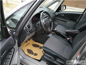 Suzuki sx4-4X4-IMPECABILA-AN 2008-KM.REALI+CARTE SERVICE - imagine 12