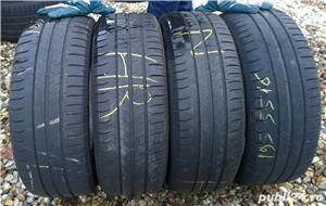 4 anvelope vara 195-55-R16 Michelin 7 mm profil montaj gratis - imagine 1