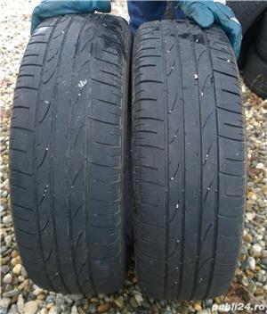 2 anvelope vara 215-65-R16 Bridgestone DOT 1613  - imagine 1