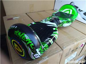 Hoverboard Cip-03 led green Streetdance Telecomanda-Bluetooth + HUSA - imagine 1
