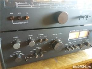 Amplificator  Strato 9009+tuner Strator 7090  Vu metre cu ace  - imagine 4