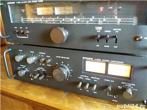 Amplificator  Strato 9009+tuner Strator 7090  Vu metre cu ace  - imagine 8