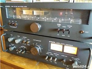 Amplificator  Strato 9009+tuner Strator 7090  Vu metre cu ace  - imagine 7