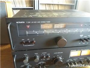 Amplificator  Strato 9009+tuner Strator 7090  Vu metre cu ace  - imagine 2