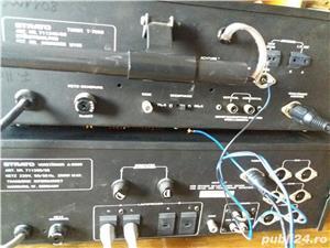 Amplificator  Strato 9009+tuner Strator 7090  Vu metre cu ace  - imagine 5
