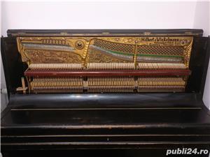 Pianina Hilbert Winkelmann placa bronz Germania - imagine 1