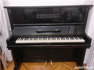 Pianina Hilbert Winkelmann placa bronz Germania - imagine 3