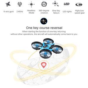 Drona JJRC H36 cu telecomanda,elicopter,avion copii 14+,joc. Nou in cutie - imagine 9