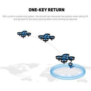 Drona JJRC H36 cu telecomanda,elicopter,avion copii 14+,joc. Nou in cutie - imagine 8
