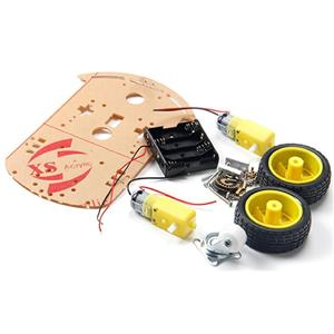 Platforma robot 2WD (Arduino,PIC,rasspbery) pentru licenta, facultate - imagine 1