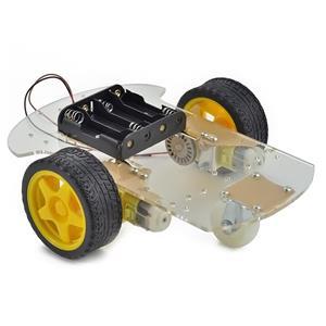Platforma robot 2WD (Arduino,PIC,rasspbery) pentru licenta, facultate - imagine 3
