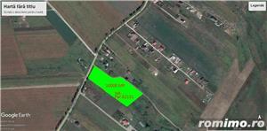 Teren 10000 MP Miroslava intravilan ( Valea Ursului )cu deschidere la DN 50 ml - imagine 2