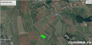 Teren 10000 MP Miroslava intravilan ( Valea Ursului )cu deschidere la DN 50 ml - imagine 4