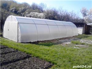 solar legume si flori 28 m lungime /4 m deschidere/ 2,6 m inaltime - imagine 2
