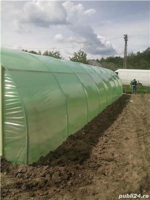 solar legume si flori 28 m lungime /4 m deschidere/ 2,6 m inaltime - imagine 3