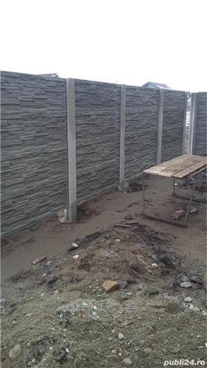 Vand placi de beton pentru gard! - imagine 1