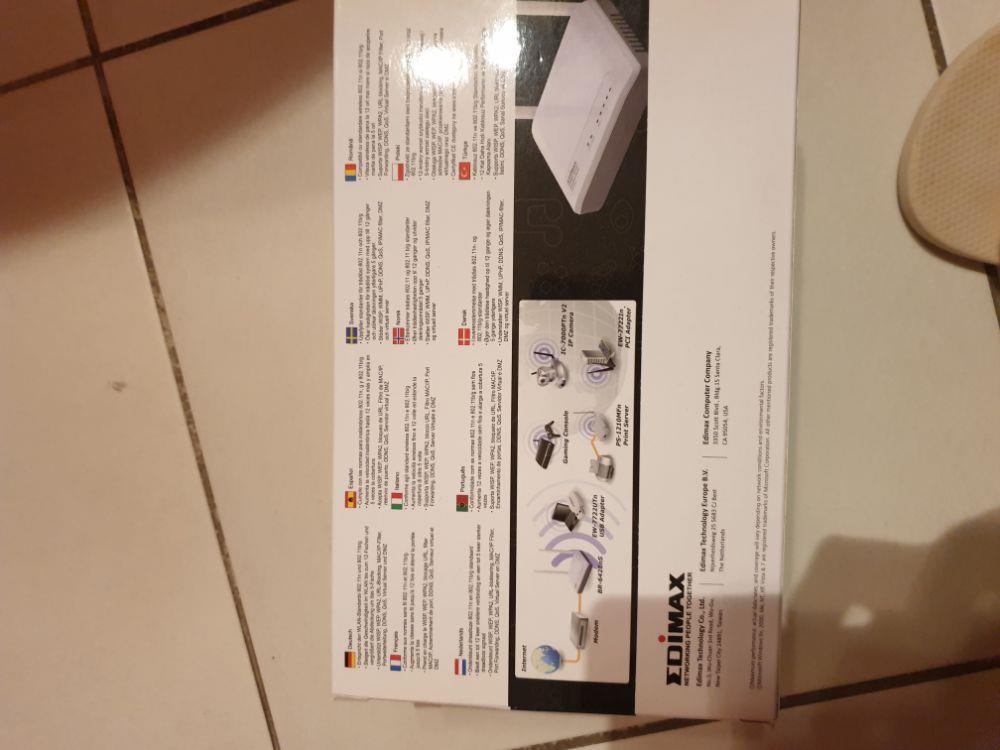 Router Wireless Edimax 300 mbps 2 antene - imagine 7
