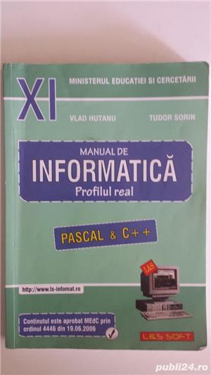 Manuale pentru Clasa a-11-a, profil real  - imagine 4