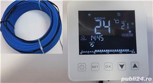 Incalzirea pardoseala cu termostat Inteligent digital Touch - imagine 2