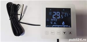 Incalzirea pardoseala cu termostat Inteligent digital Touch - imagine 10
