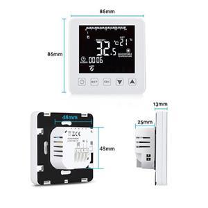 Incalzirea pardoseala cu termostat Inteligent digital Touch - imagine 9