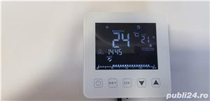 Incalzirea pardoseala cu termostat Inteligent digital Touch - imagine 4
